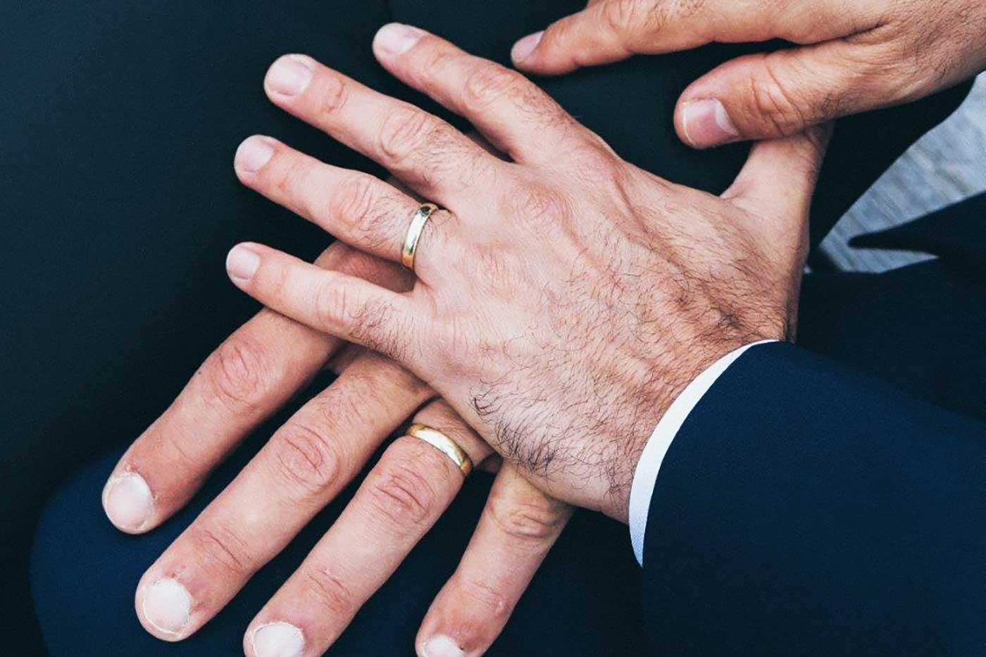 Nygifta händer